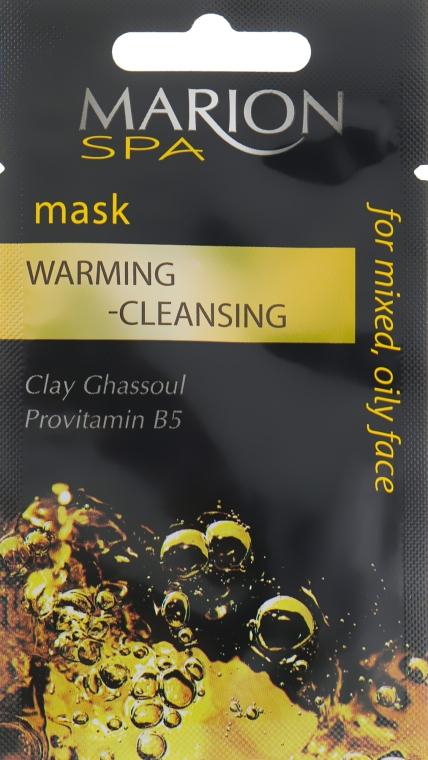 Маска для лица разогревающе-очищающая - Marion SPA Mask
