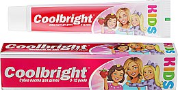 Духи, Парфюмерия, косметика Детская зубная паста - Coolbright Kids Girls