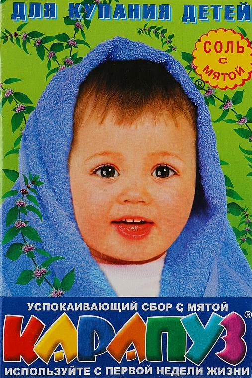 "Соль для ванн ""Мята"" - Карапуз"