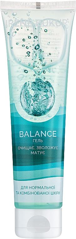 """Гель очищающий для лица """"Баланс"""" - Irene Bukur Balance Gel"""