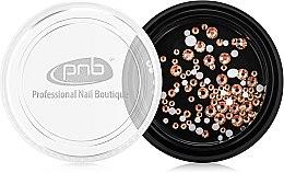 Духи, Парфюмерия, косметика Стразы для ногтей - PNB Champagne Mix SS3,5,10 Glass