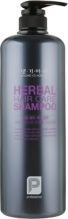 Профессиональный шампунь на основе целебных трав - Daeng Gi Meo Ri Professional Herbal Hair Shampoo