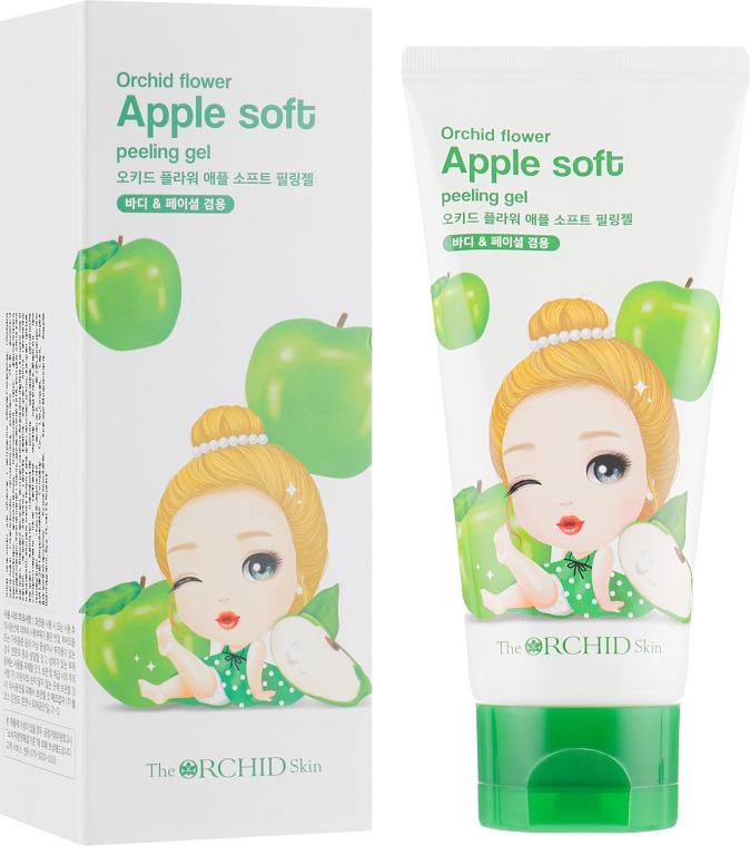 Гель-пилинг для лица с экстрактом яблока - The Orchid Skin Orchid Apple Soft Peeling Gel