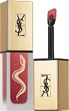 Духи, Парфюмерия, косметика Жидкая матовая помада - Yves Saint Laurent Tatouage Couture Metallics Collectors Edition