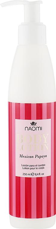 """Лосьон для тела """"Мексиканская папайя"""" - Naomi Body Lotion Mexican Papayas"""