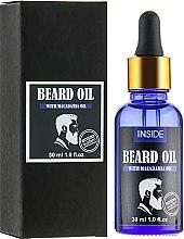 Духи, Парфюмерия, косметика Масло для бороды с маслом макадамии - Inside Beard Oil Macadamia