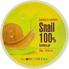 Духи, Парфюмерия, косметика Увлажняющий гель для лица и тела с муцином улитки - The Orchid Skin Soothing Gel Snail