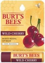 "Духи, Парфюмерия, косметика Увлажняющий бальзам для губ ""Дикая вишня"" - Burt's Bees Moisturizing Lip Balm Wild Cherry"