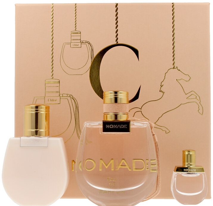 Chloe Nomade - Набор (edp/75ml + edp/mini/5ml + b/lot/100ml)