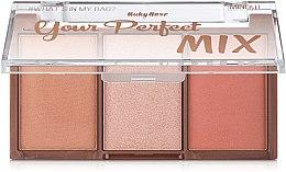 Духи, Парфюмерия, косметика Палетка для макияжа, HB-6110 - Ruby Rose Mini Kit