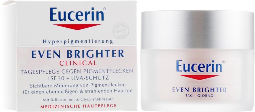 Дневной крем для лица депигментирующий SPF 30 - Eucerin Even Brighter Pigment Reducing Day Cream SPF 30
