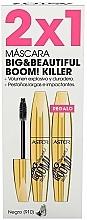 Духи, Парфюмерия, косметика Набор - Astor Big Beautiful Boom Volume Black (2xmascara/12ml)