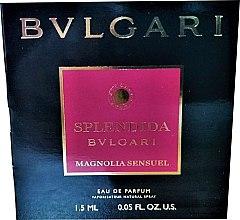 Духи, Парфюмерия, косметика Bvlgari Splendida Magnolia Sensuel - Парфюмированная вода (пробник)