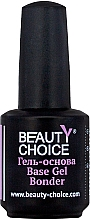 Духи, Парфюмерия, косметика Гель-основа для ногтей - Beauty Choice Base Gel Bonder