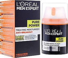 Духи, Парфюмерия, косметика Гель-крем для лица против несовершенств кожи - L'Oreal Paris Men Expert Pure Power