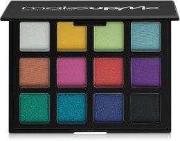 Духи, Парфюмерия, косметика Профессиональная палитра теней 12 цветов, P12-1 - Make Up Me