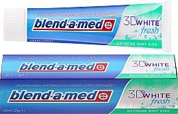 """Духи, Парфюмерия, косметика Зубная паста """"Мятный поцелуй"""" - Blend-a-med 3D White Fresh Extreme Mint Kiss Toothpaste"""