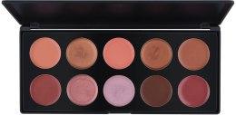 Духи, Парфюмерия, косметика Профессиональная палитра помад/блесков на 10 цветов, L10-1 - Make Up Me