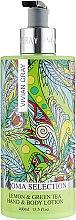 Духи, Парфюмерия, косметика Лосьон для тела - Vivian Gray Aroma Selection Lemon & Green Tea Body Lotion