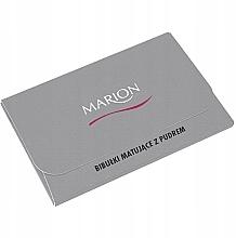 Духи, Парфюмерия, косметика Матирующие салфетки для лица, 50 шт. - Marion Mat Express Oil Control Paper