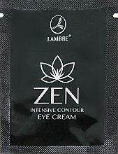 Духи, Парфюмерия, косметика Интенсивно разглаживающий крем для кожи вокруг глаз - Lambre Zen (пробник)