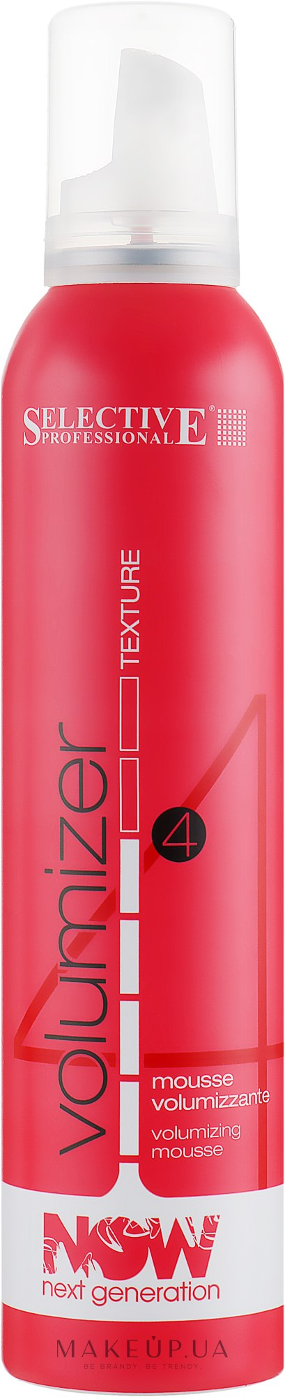 Мусс придающий объем волосам - Selective Professional Now Next Generation Volumizer Mousse Bombola — фото 250ml