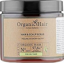 Духи, Парфюмерия, косметика Органический скраб для жирных волос и кожи головы - Stara Mydlarnia Organic Hair Scrub For Oily Hair And Scalp