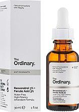 Духи, Парфюмерия, косметика Сыворотка с ресвератролом 3% + с феруловой кислотой 3% - The Ordinary Resveratrol 3% + Ferulic Acid 3%