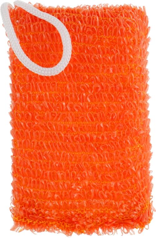 "Мочалка для душа и ванны ""Энергия здоровья"", оранжевая - Гарні речі"