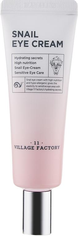 Крем для кожи вокруг глаз с фильтратом улиточной слизи - Village 11 Factory Snail Eye Cream
