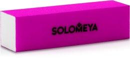 Духи, Парфюмерия, косметика Блок-шлифовщик для ногтей, фиолетовый - Solomeya Sanding Block