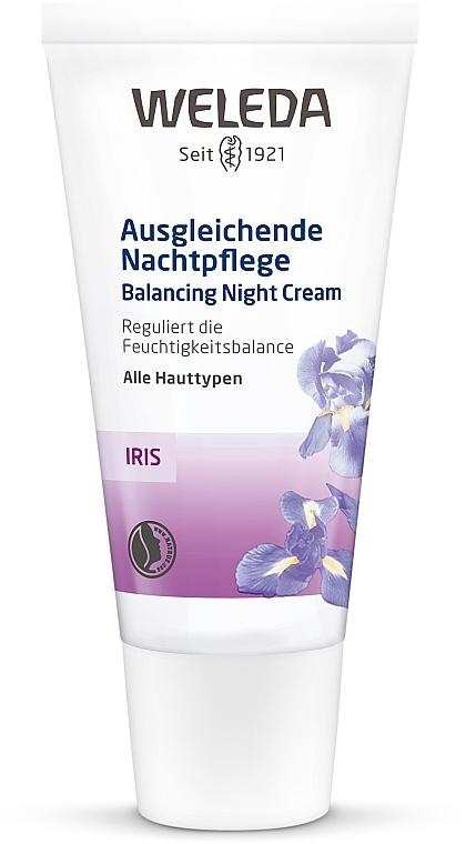 Ирисовый ночной крем - Weleda Iris Nachtcreme