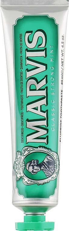 """Зубная паста """"Классическая мята"""" с ксилитолом - Marvis Classic Strong Mint + Xylitol"""