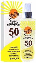 Духи, Парфюмерия, косметика Солнцезащитный спрей - Malibu Clear All Day Protection SPF 50