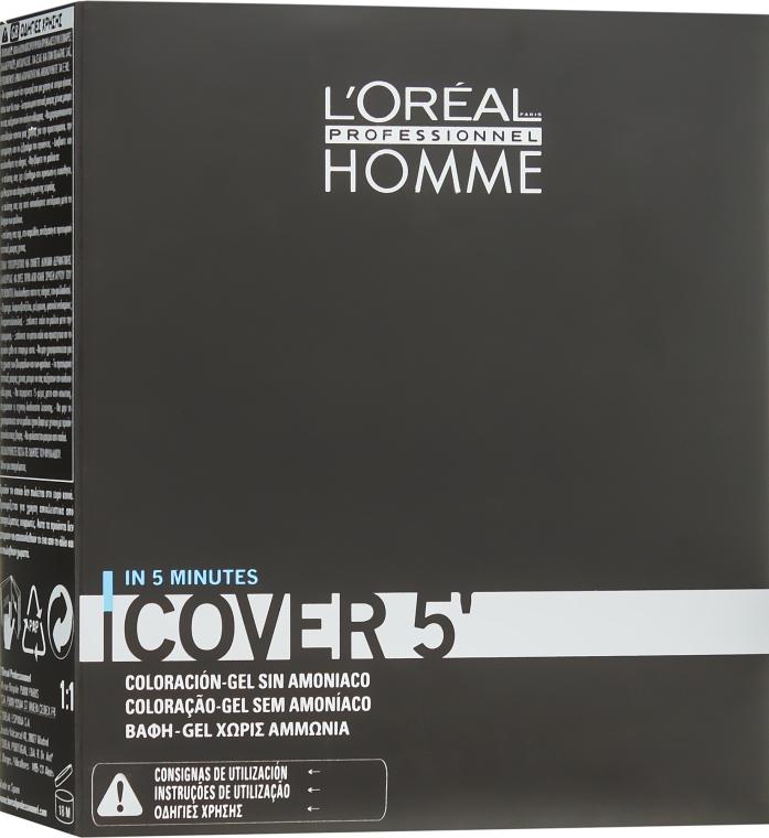 Окрашивающий гель для волос - L'Oreal Professionnel Cover 5 (3x50ml)