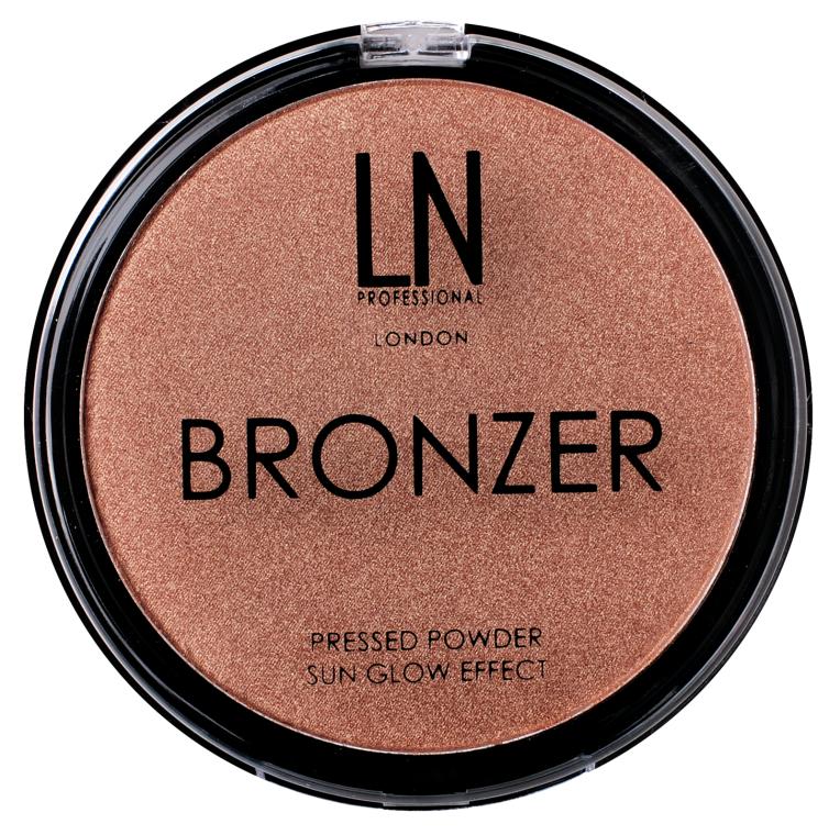 Бронзер для лица и тела - LN Professional Bronze Sun Glow Effect