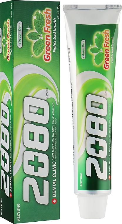 """Зубная паста """"Зеленый чай"""" - KeraSys Green Fresh"""