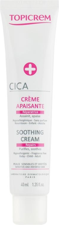 Крем успокаивающий CICA - Topicrem CICA Soothing Cream