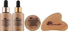Духи, Парфюмерия, косметика Набор для сухой, чувствительной и кожи с куперозом - Azazello (ser/2x10ml + f/jelly/10ml + massager/1pc + box)