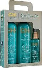 Духи, Парфюмерия, косметика Набор - CHI Aloe Vera Oil (shampoo/340ml + cond/340ml + oil/89ml)