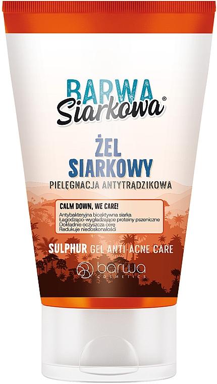 Антибактериальный гель для умывания - Barwa Anti-Acne Antibacterial Cleansing Gel