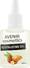 """Парфумерія, косметика Олія для кутикули """"Мигдаль"""" - Avenir Cosmetics Revitalizing Oil"""