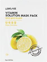 Духи, Парфюмерия, косметика Тканевая маска для лица - Lebelage Vitamin Solution Mask
