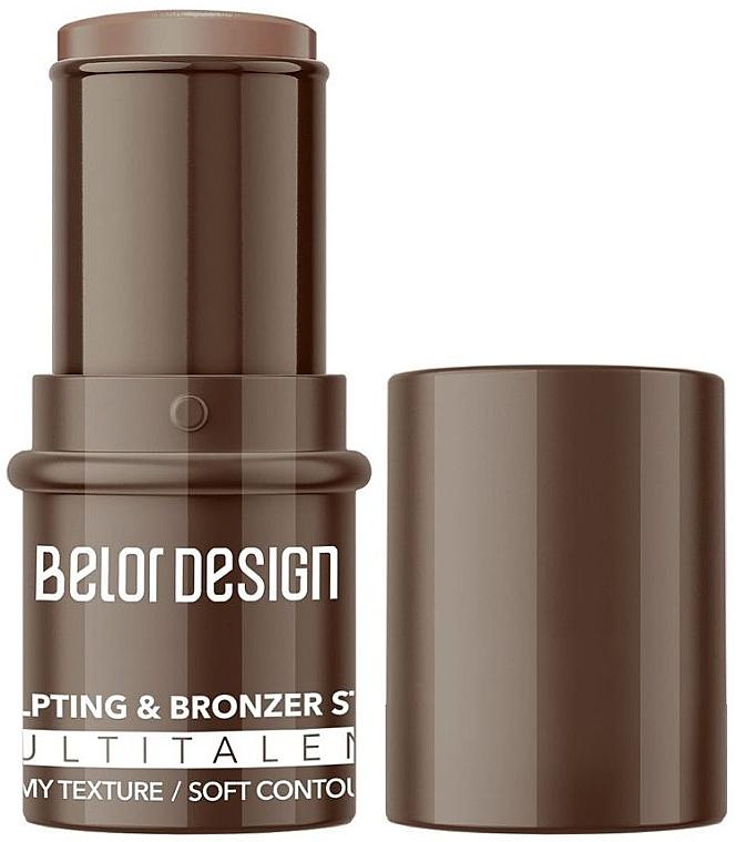 Мультифункциональный скульптор-стик для лица - Belor Design Multitalent Sculpting & Bronzer Stick
