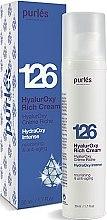 Духи, Парфюмерия, косметика Гиалуроновый крем увлажняющий и питательный - Purles 126 HydraOxy Intense HyalurOxy Rich Cream (пробник)