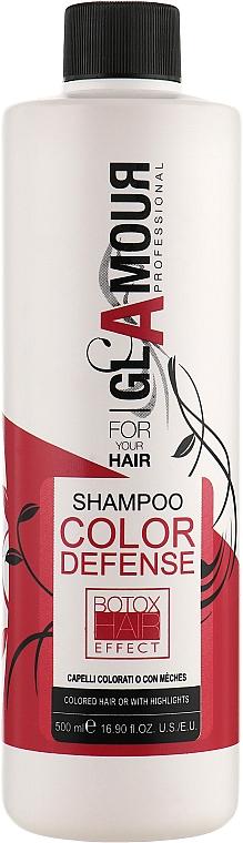 Шампунь для окрашенных и мелированных волос - Erreelle Italia Glamour Professional Shampoo Color Defense