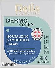 Духи, Парфюмерия, косметика Крем для лица - Delia Dermo System Normalizing & Soothing Cream