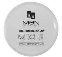 Парфумерія, косметика Крем універсальний для обличчя, рук і тіла - AA Cosmetics Men Universal Cream
