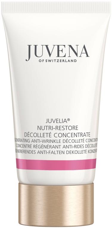 Питательный омолаживающий концентрат для шеи и декольте - Juvena Juvelia Nutri Restore Decollete Concentrate (тестер)