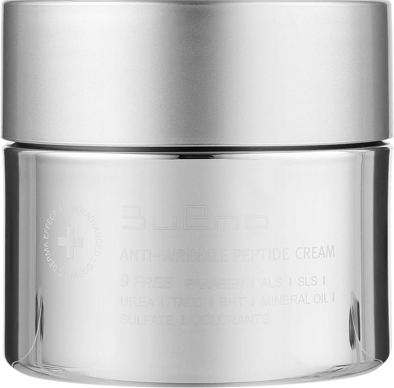 Антивозрастной пептидный крем против морщин - Bueno Anti-Wrinkle Peptide Cream